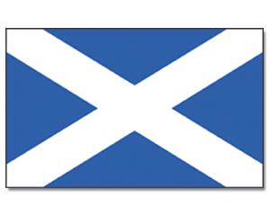 SCOTLAND (ST. ANDREW'S CROSS) FLAG