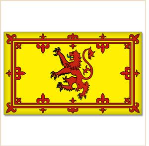 SCOTLAND (RAMPANT LION) FLAG