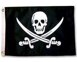 """CALICO"" JACK RACKHAM PIRATE FLAG"