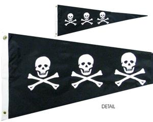 CHRISTOPHER CONDENT BLACK [PIRATE PENNANT]