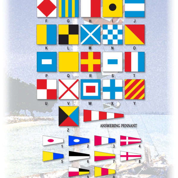 INTERNATIONAL CODE OF SIGNALS (INDIVIDUAL FLAGS)