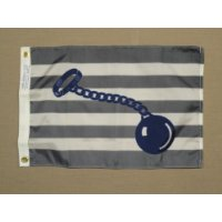 BALL & CHAIN FLAG (WIFE ON BOARD)