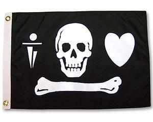 STEDE BONNET PIRATE FLAG