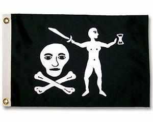 WALTER KENNEDY PIRATE FLAG