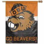 OREGON STATE UNIVERSITY VERTICAL BANNER (BENNY THE BEAVER)