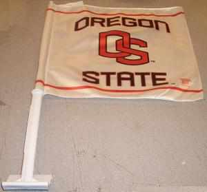 OREGON STATE CAR FLAG