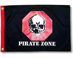 PIRATE ZONE FLAG