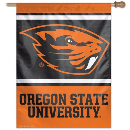 OREGON STATE UNIVERSITY VERTICAL BANNER (NEW BEAVER)