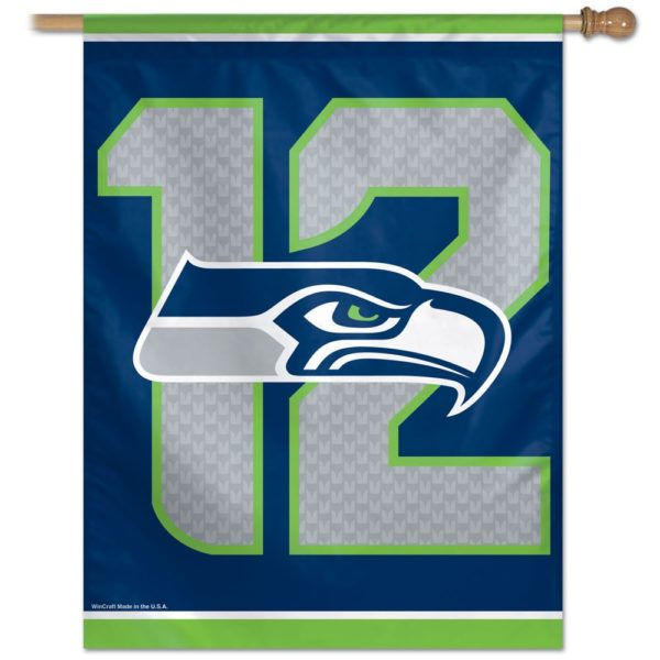 SEATTLE SEAHAWKS 12 BANNER