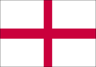 ST. GEORGE'S CROSS FLAG (ENGLAND)