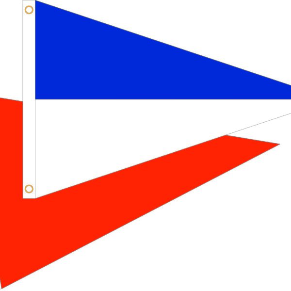 2'x3′ TRIANGLE NYLON DECOR FLAG