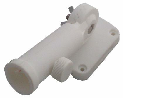 ADJUSTABLE WHITE NYLON BRACKET