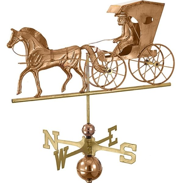 COUNTRY DOCTOR WEATHERVANE (POLISHED)