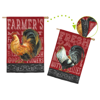 BLACKBOARD ROOSTER [TWO-SIDED]