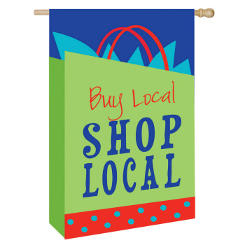 SHOP LOCAL [APPLIQUE]