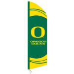 UNIVERSITY OF OREGON DUCKS FEATHER BANNER