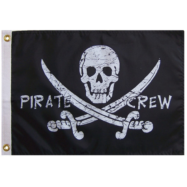 PIRATE CREW [PIRATE FLAG]