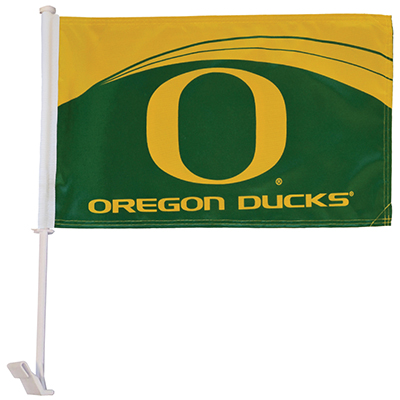 UNIVERSITY OF OREGON CAR FLAG