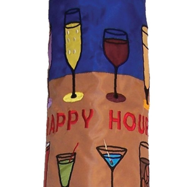 COCKTAILS HAPPY HOUR WINDSOCK