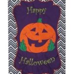 HAPPY HALLOWEEN [APPLIQUE]