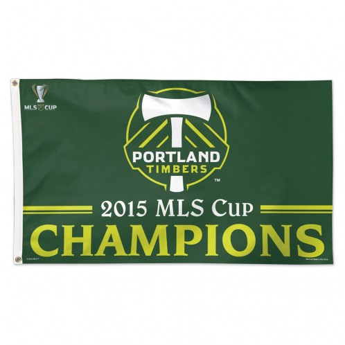 PORTLAND TIMBERS MLS CHAMPIONS FLAG [LIMITED SUPPLY!]