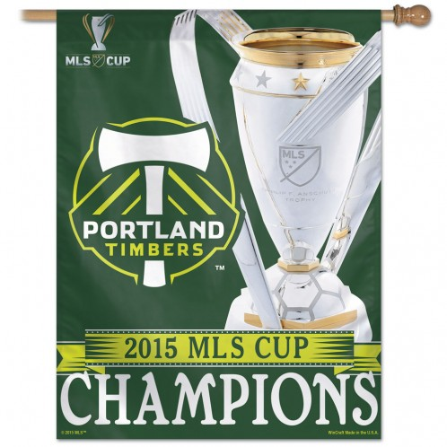 PORTLAND TIMBERS MLS CHAMPIONS HOUSE BANNER [LIMITED SUPPLY!]