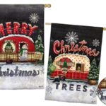 TREE LOT PLAID – CHRISTMAS AND MERRY CHRISTMAS [TWO-SIDED]
