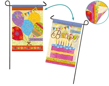 BIRTHDAY BANNERS [TWO-SIDED IMAGE]