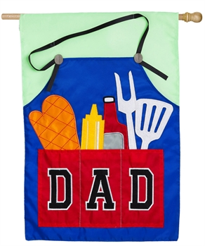 DAD'S GRILL TOOLS [APPLIQUE]