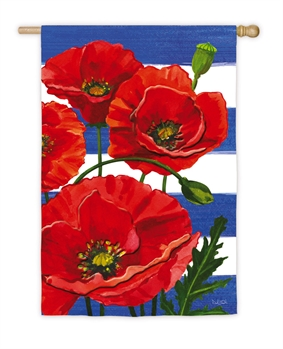 POPPIES AND STRIPES