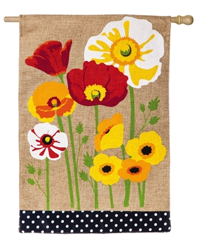 POPPIES [BURLAP]