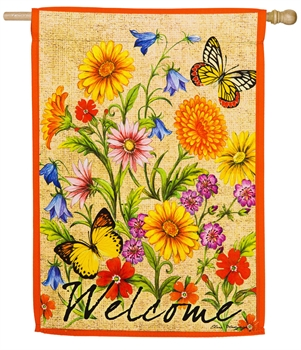 WILDFLOWERS ON CANVAS