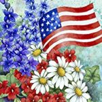 FLORAL PATRIOTIC WELCOME