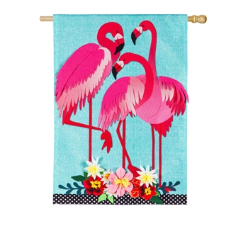 FLAMINGO [LINEN WITH FELT]