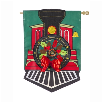 CHRISTMAS TRAIN [APPLIQUE]